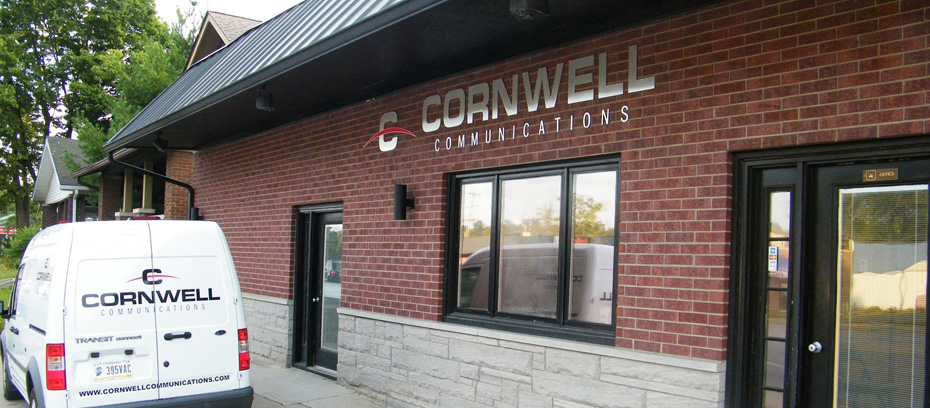 cornwell-communications-building-and-truck