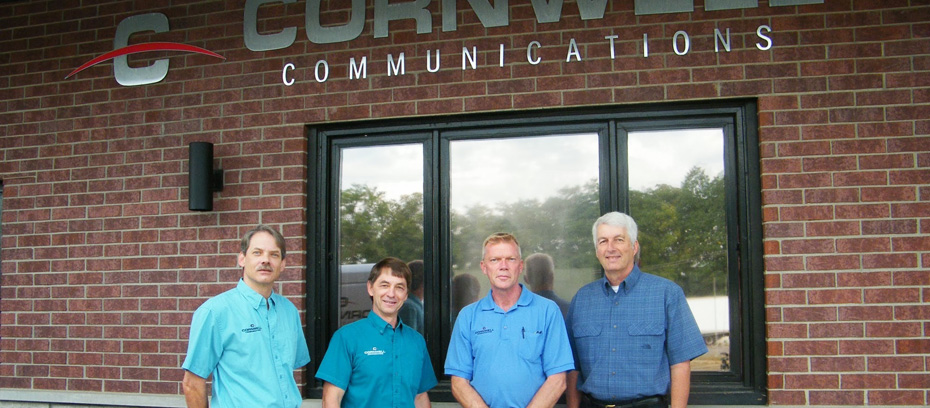 cornwell-communications-staff-in-front-of-building